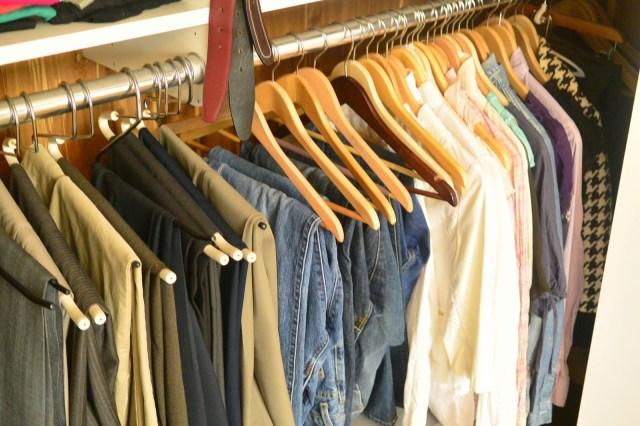Organizing The Master Closet