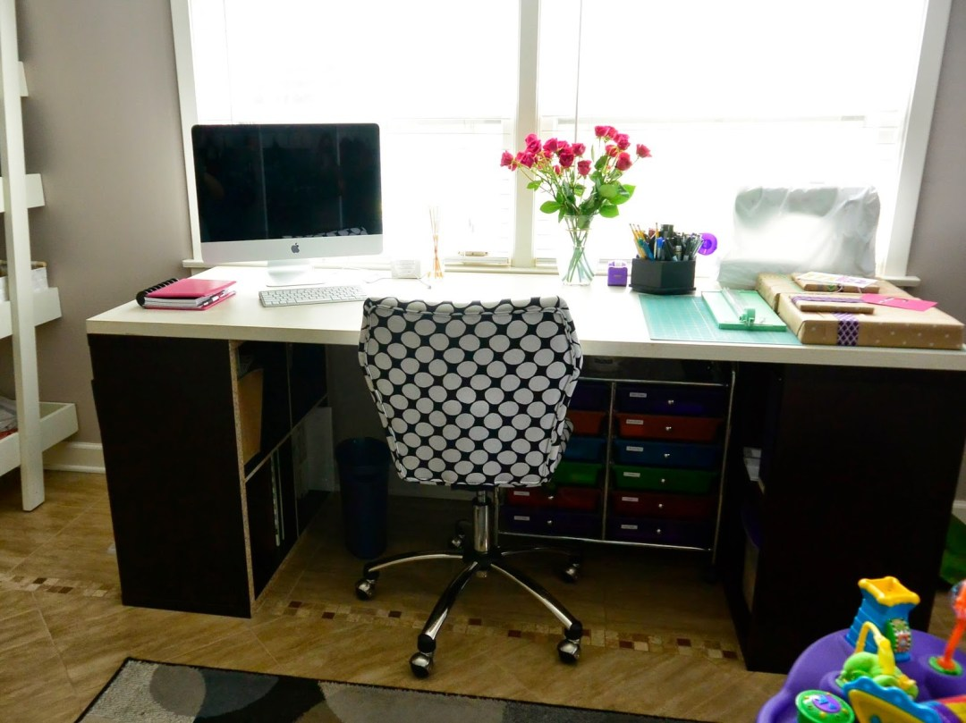 Getting The Office, Mudroom or Craft Room Organized