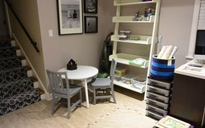 Getting Organized: Figuring Out The Craft Room