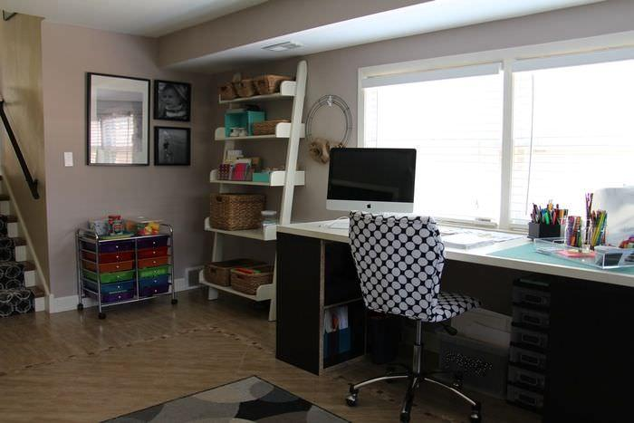 Organizing The Office And Craft Room - Craft Desk