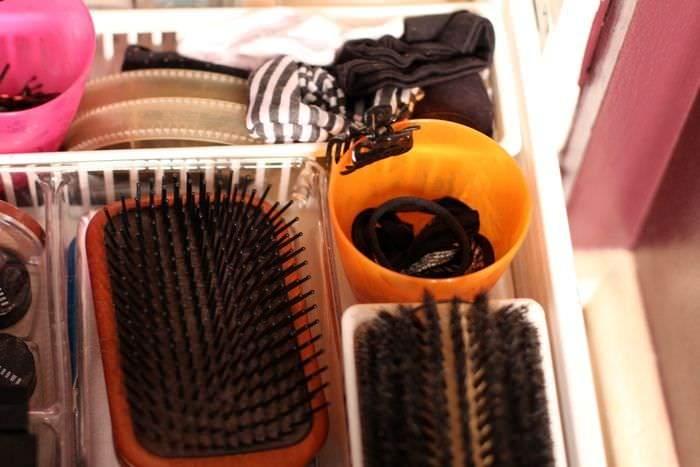 Spring Clean Up Challenge Week Four - Hair Tie Storage