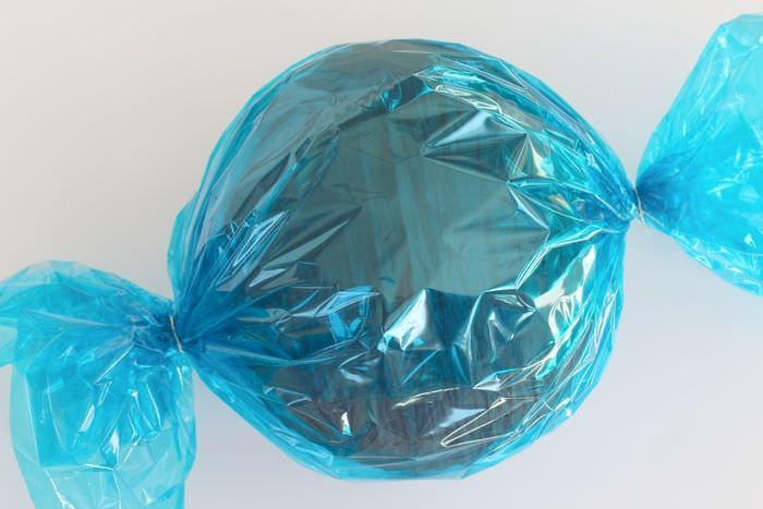 Creating Giant Lollipops Tutorial - Candy Finished