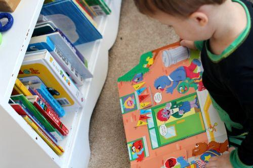 Book Organization For Toddlers