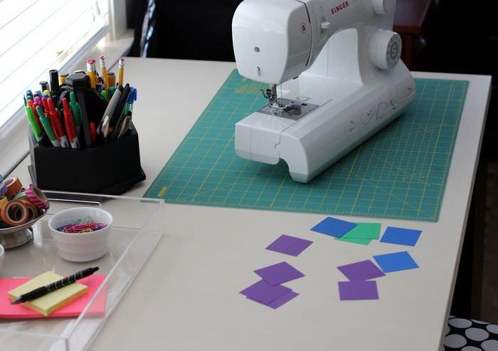 Organizing The Office And Craft Room - Sewing Machine