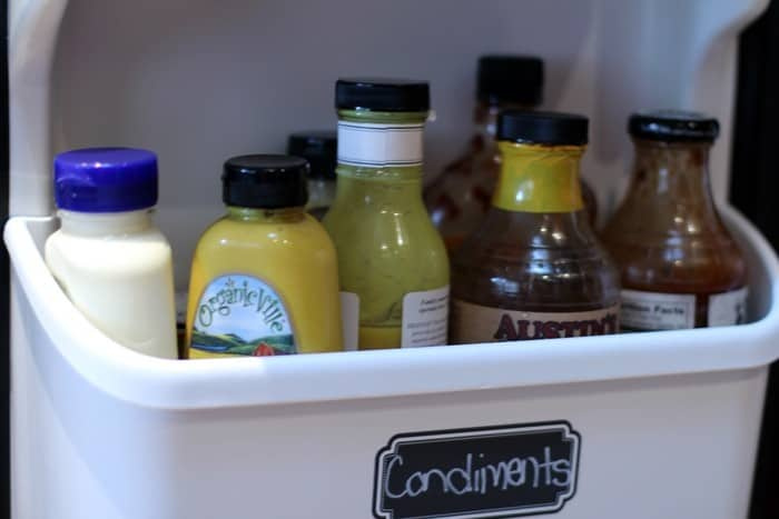 Fridge And Freezer Organization - Condiments