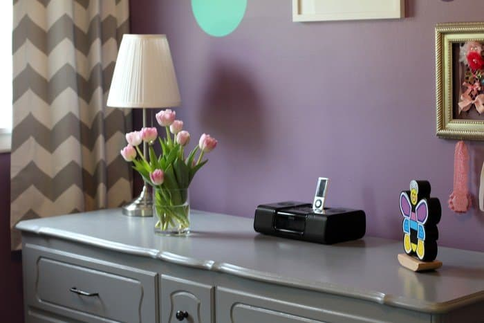 Room Tour: Purple, Teal and Grey Toddler Room