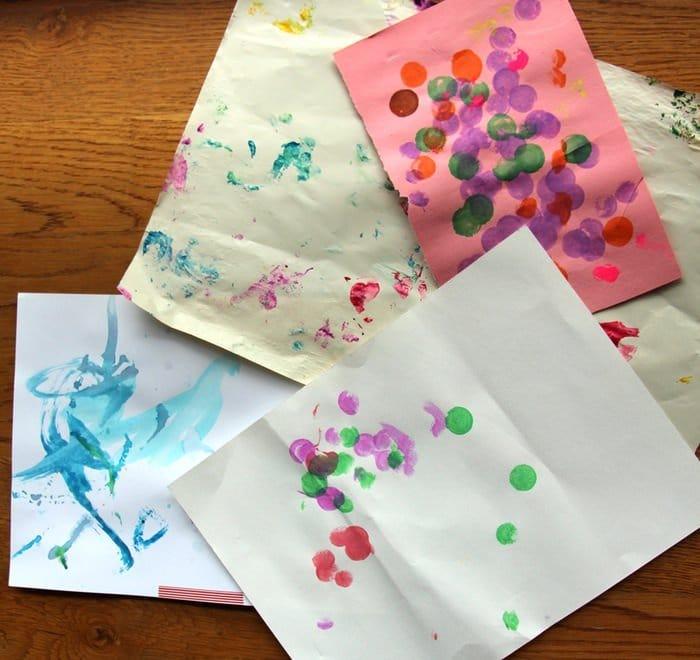 Storing Children's Artwork