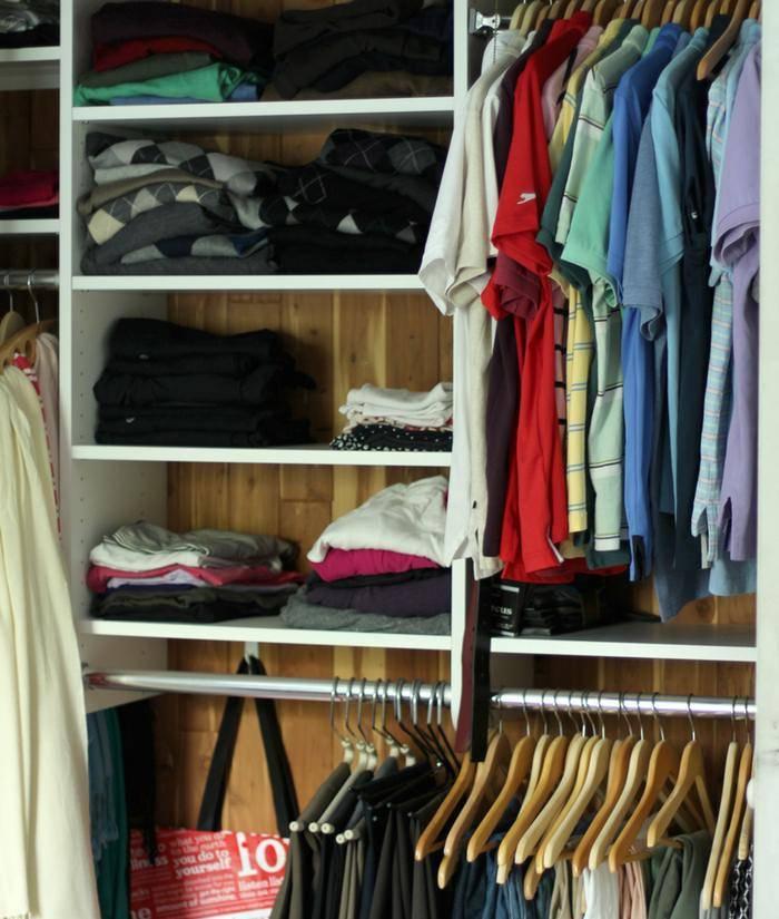 Organizing Our Master Closet