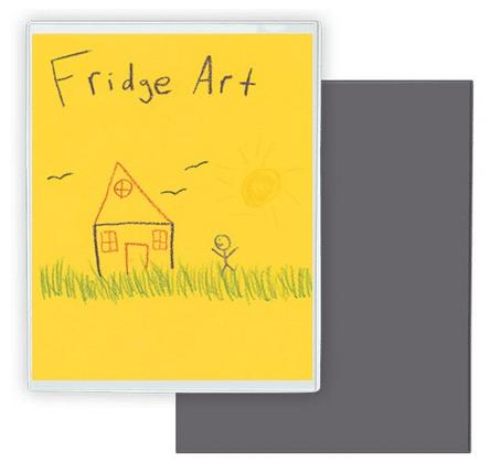 Storing Children's Artwork - Fridge Art