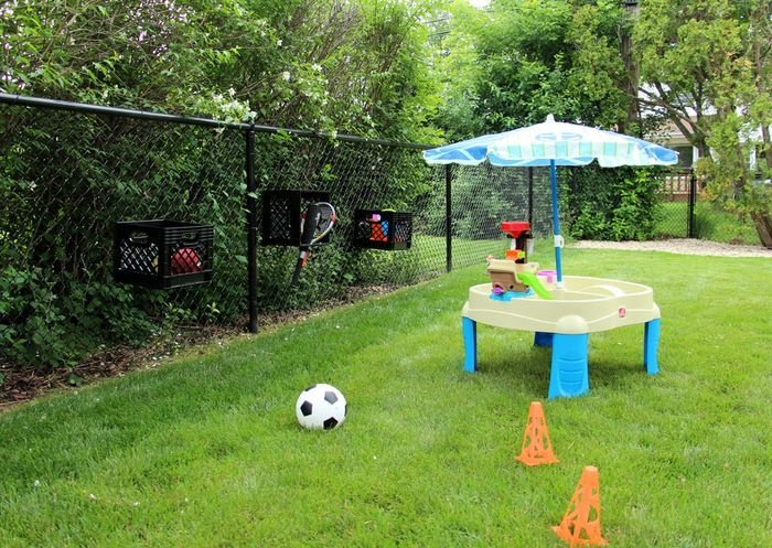 Organizing Your Outside Toys