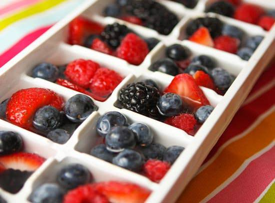 Fourth Of July Ideas - Fruit Cubes