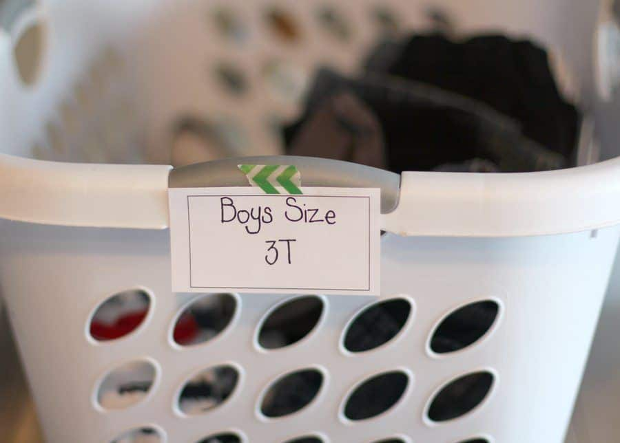 How To Organize For A Garage Sale - Label Garage Sale