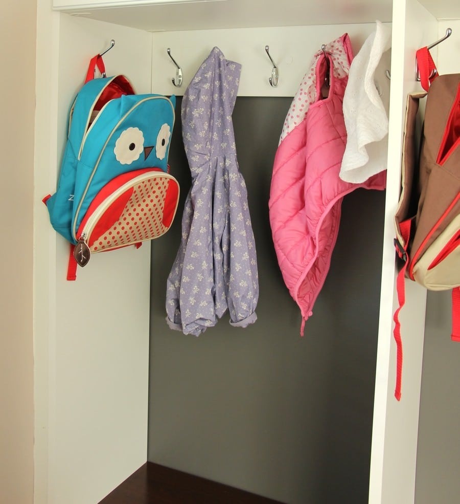 How To Organize A Mud Room - Kids Cubbies