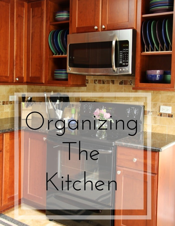 Back To School Challenge - Organizing The Kitchen