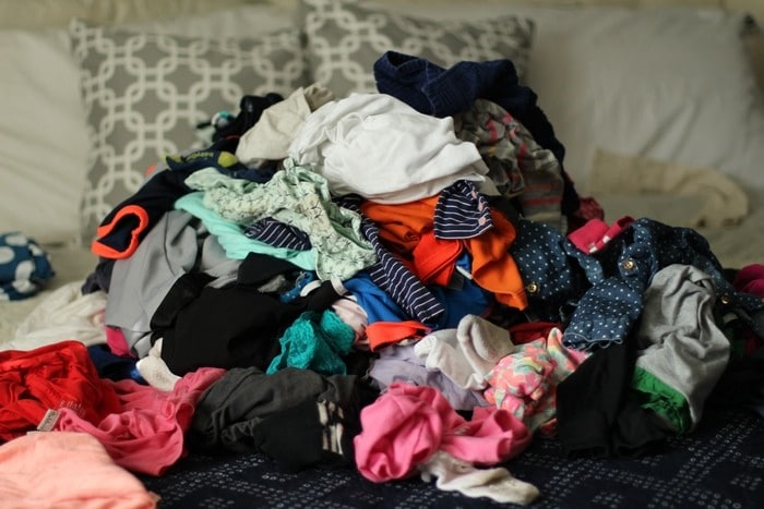My Laundry Routine - Piles Of Laundry