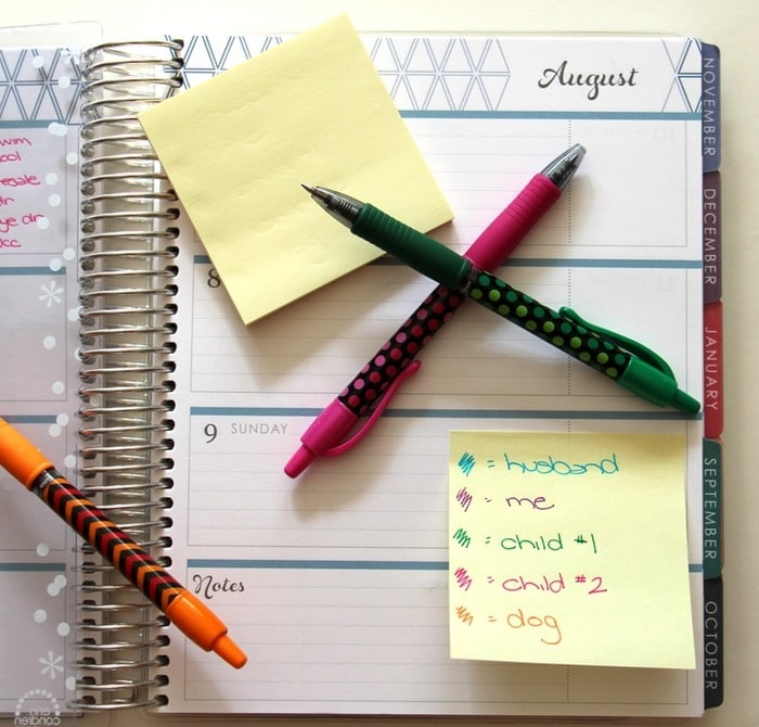 How To Label Supplies And Other Organizing Tidbits - Post It Notes