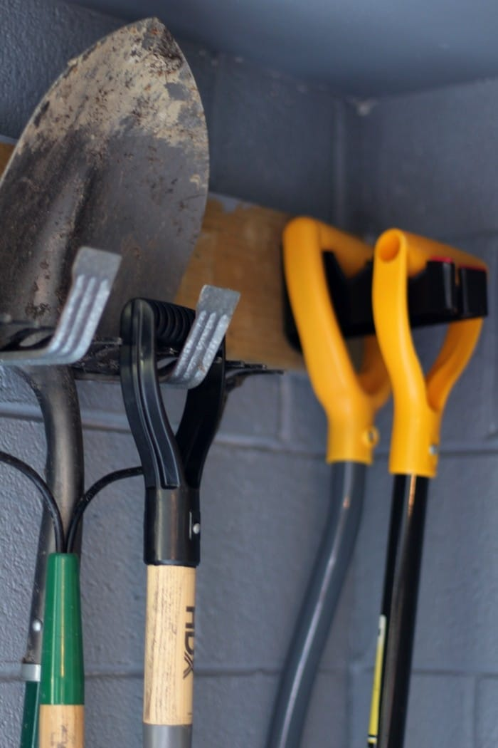 Organizing The Garage With Easy Storage Solutions - Shovel Storage