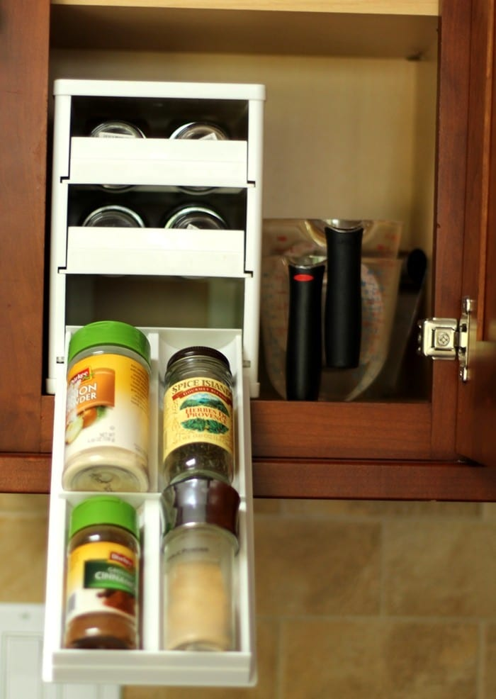 Organizing the Kitchen and Lunch Prep Ideas - Spices