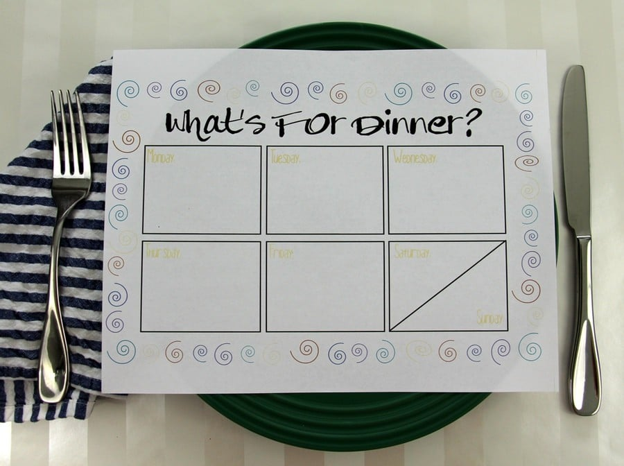 Meal Planning Organization