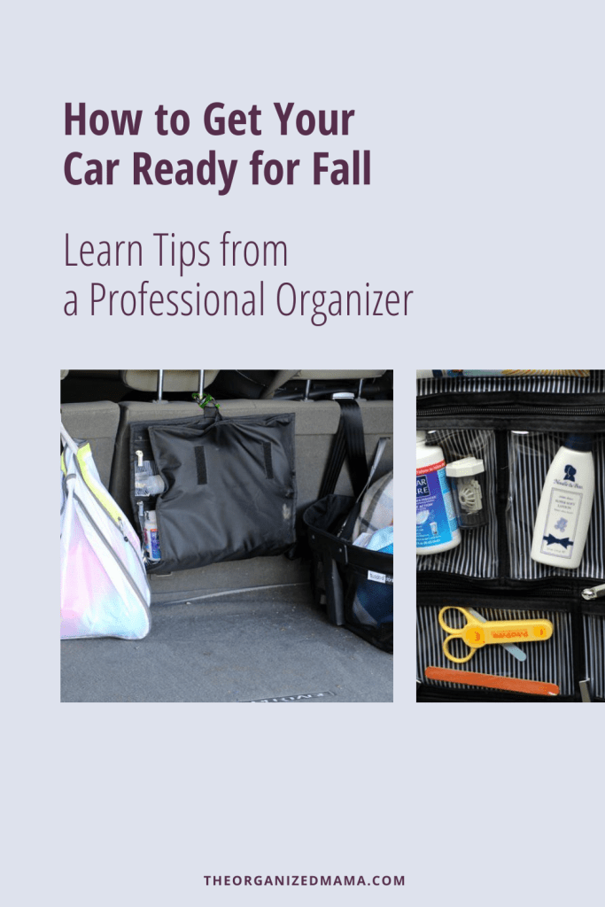 How to Get Your Car Organized for Fall