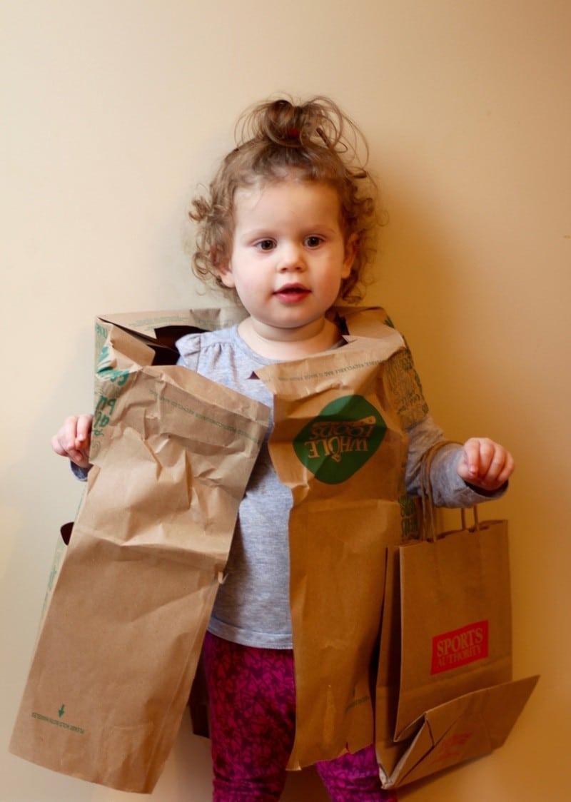 Last-Minute Halloween Costume Ideas - Bag Lady