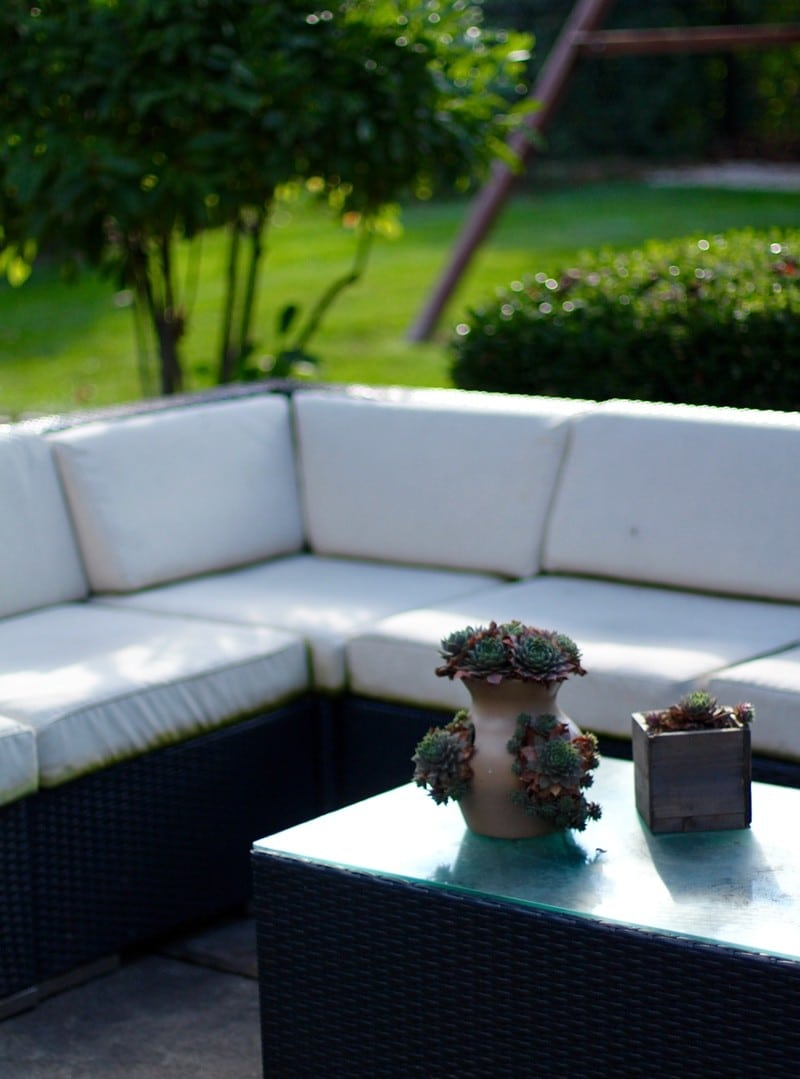 Getting Organized For Winter - Outside Cushions