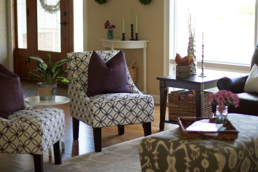 Modern Farmhouse Decor Living Room Update - The Organized Mama