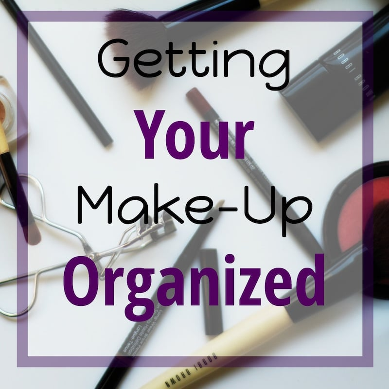Getting Your Make-Up Organized