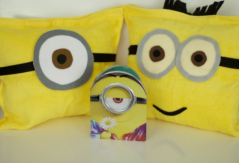 Minions DVD and Pillows