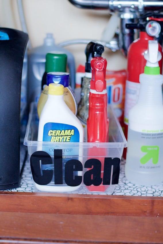 Clean Bin Kitchen