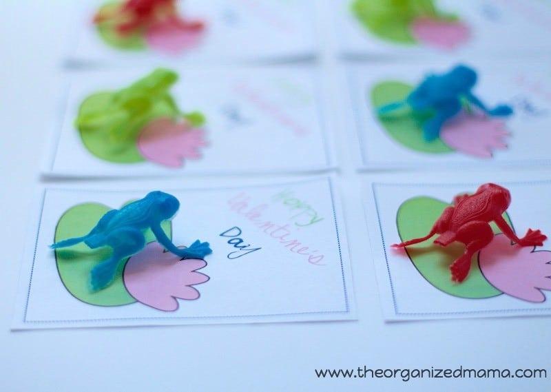 Frog Valentine's Cards