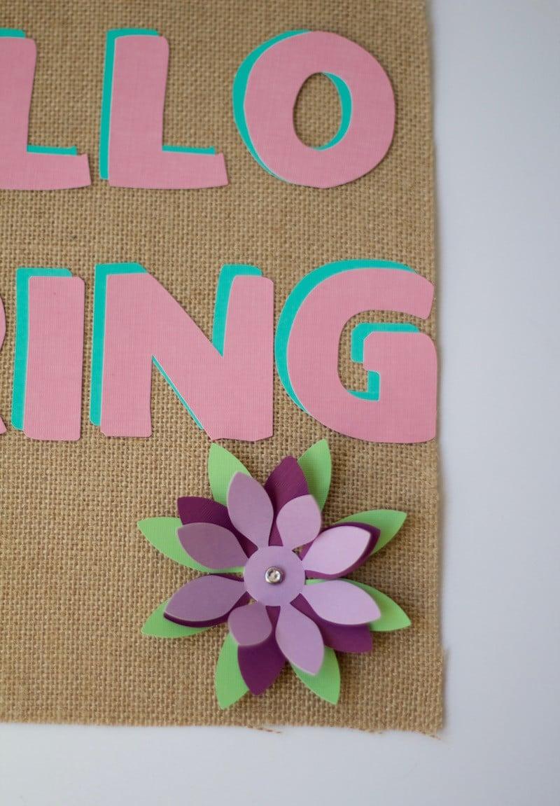 Close Up 3D Flower