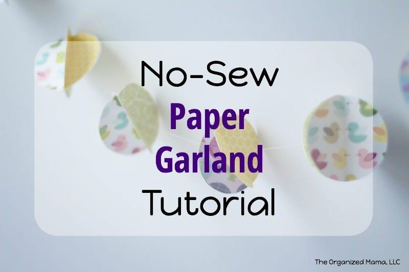 Paper Garland Tutorial