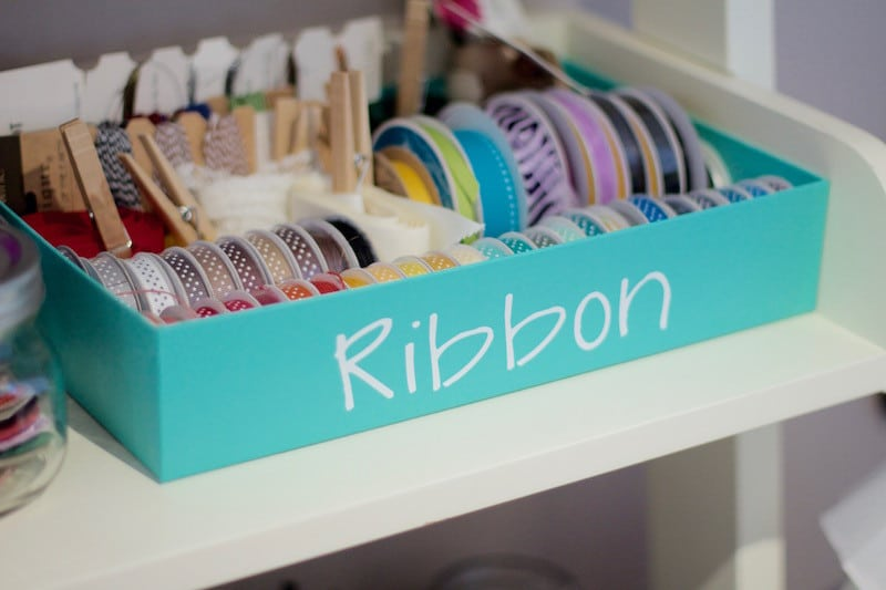 Ribbon Label