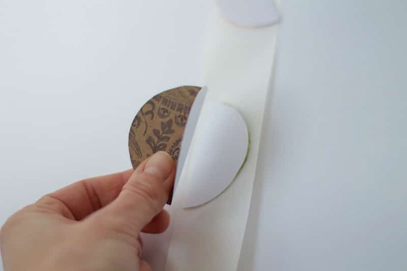 Stacking Folded Circle Sticker