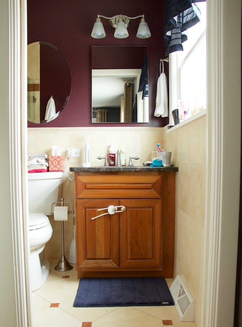 Astounding Master Bathroom Weekend Project The Organized Mama Interior Design Ideas Oxytryabchikinfo