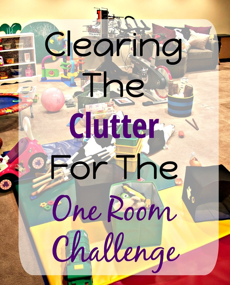 Clearing The Clutter One Room Challenge