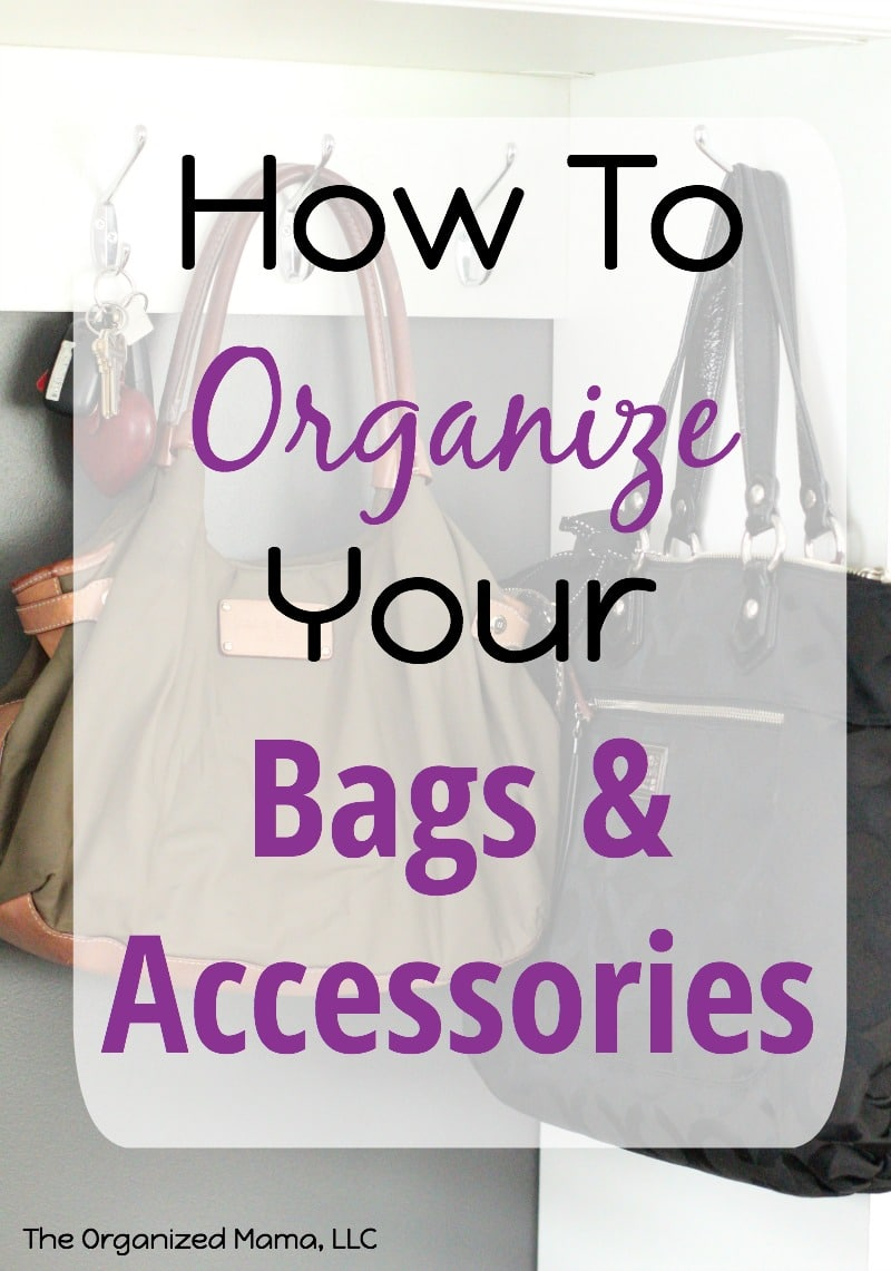 How To Organize Bags