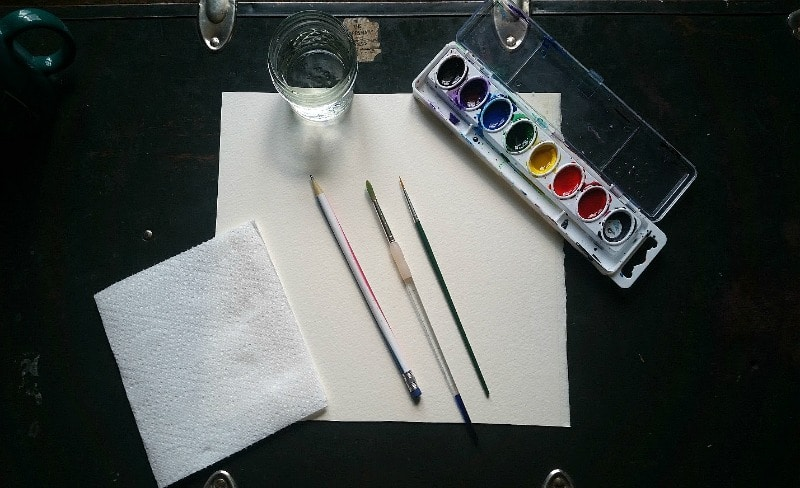 Supplies Watercolor