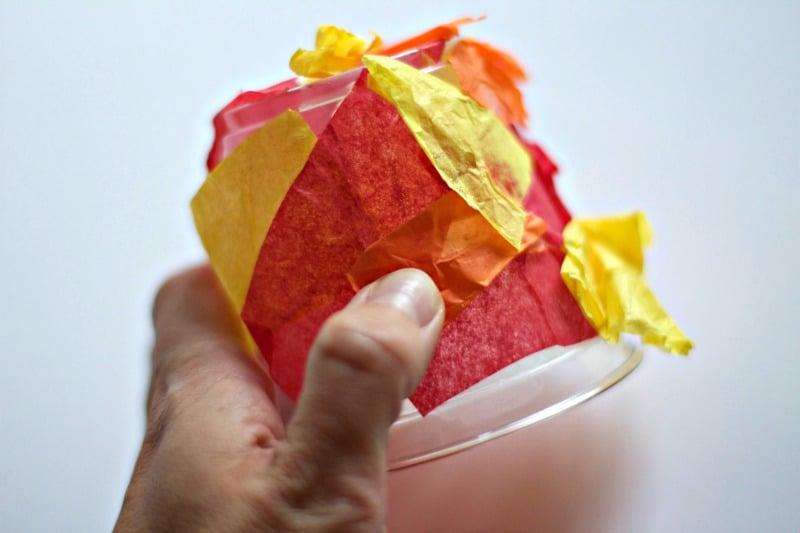 Adding Tissue Paper