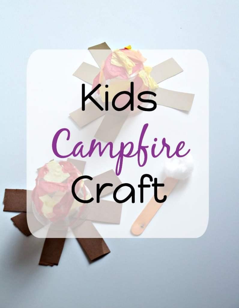 Kids Campfire Craft