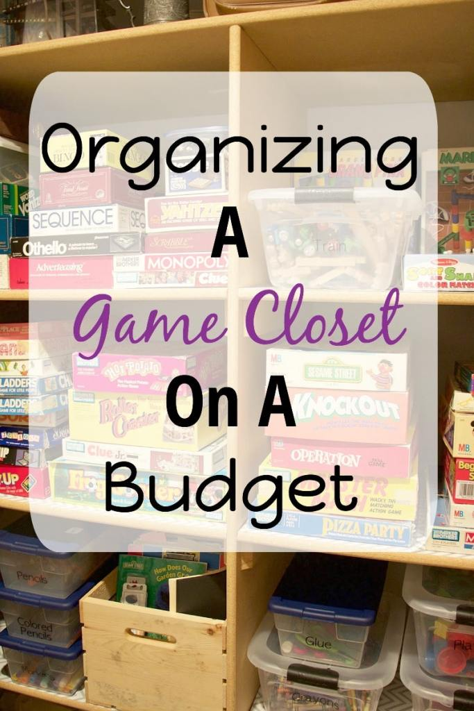 Organizing A Game Closet On A Budget
