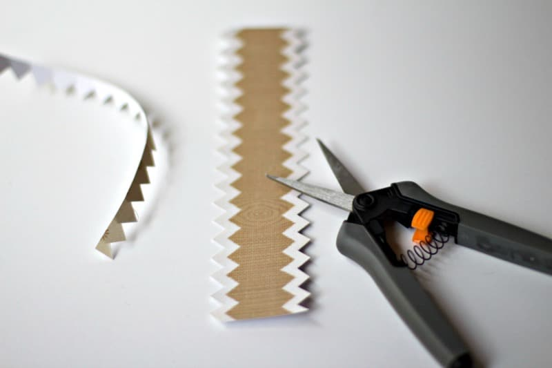 Cutting Zig Zag