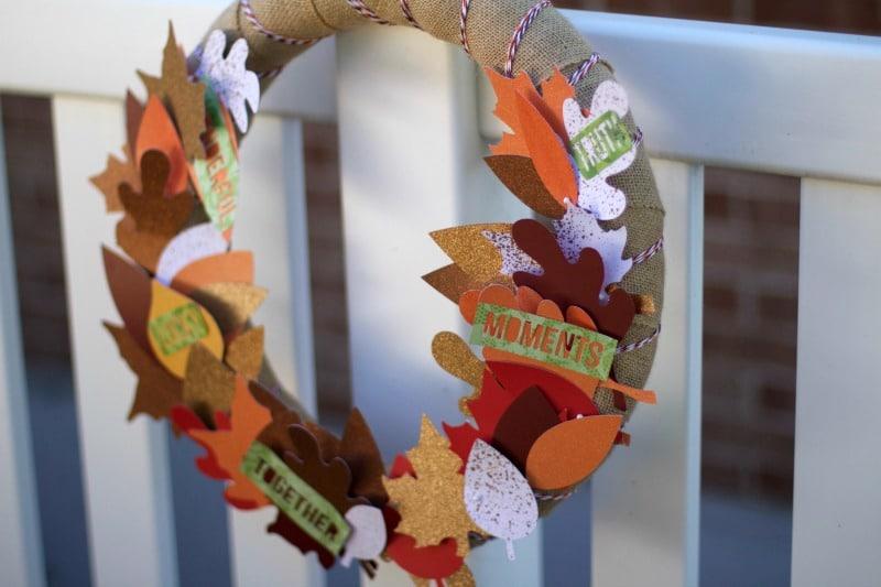 Fall Wreath DIY Tutorial