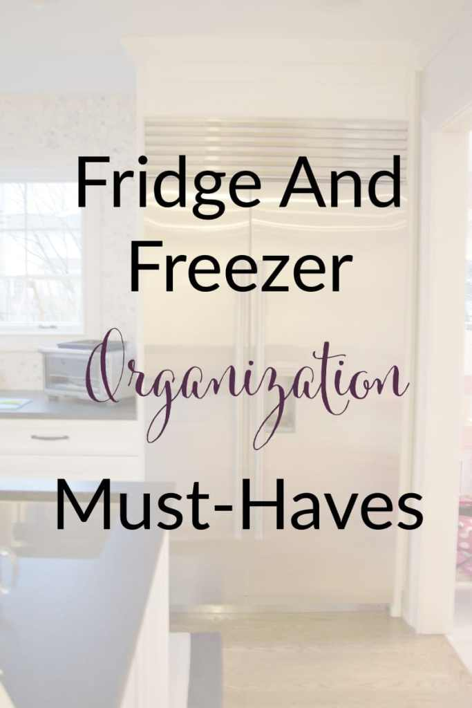 fridge freezer must haves