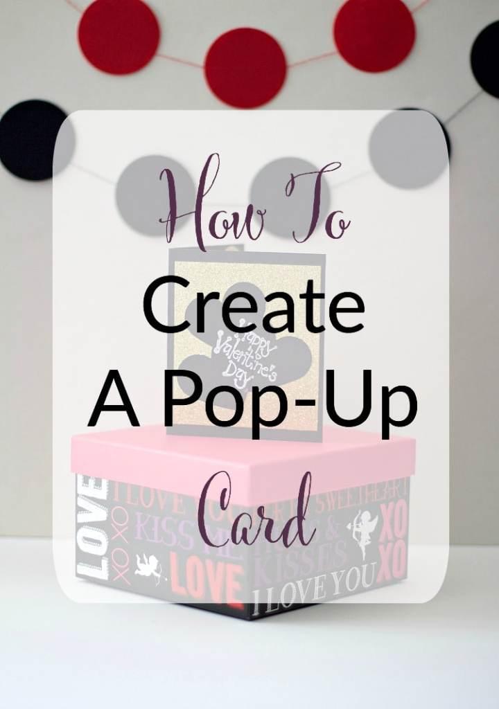 pop up valentine's day card