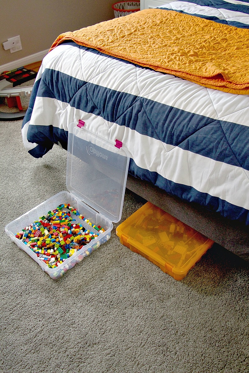 Lego Storage Under Bed