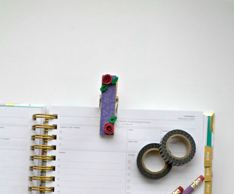 How To Create Decorative Planner Clips