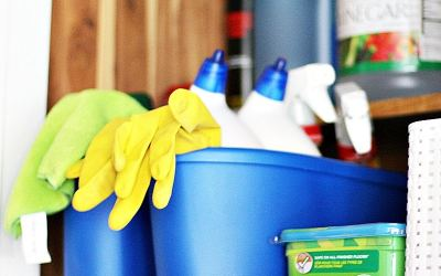 The Best Ways to Store Cleaning Supplies