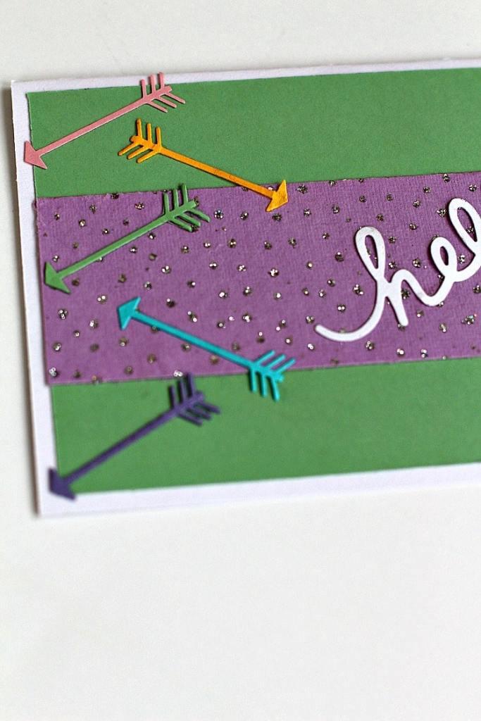 Greenery Greeting Card Tutorial